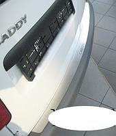 Накладка на бампер Volkswagen Caddy III 2004-