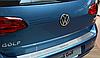 Накладка на бампер Volkswagen Golf VII 2012-