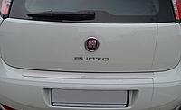 Накладка на бампер Fiat Punto II 2010-