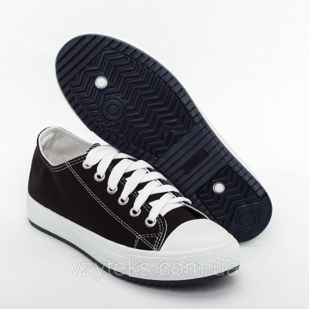 8090d8ce4356 Купить Кеды женские черные оптом Хмельницкий   Центр обуви Взутекс