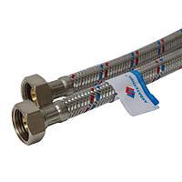 Шланг водопроводный Акватехник гибкий 1/2 80 см В-В  3001700016
