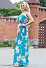 Эффектное женское платье в пол , фото 2