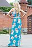 Эффектное женское платье в пол , фото 3