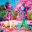 Лялька Monster High Калу Меррі (Kala Mer'ri) Великий Скарьерный Риф Монстер Хай Школа монстрів, фото 4