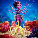 Лялька Monster High Калу Меррі (Kala Mer'ri) Великий Скарьерный Риф Монстер Хай Школа монстрів, фото 5
