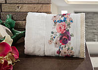 Полотенце махровое для лица и рук бамбук/хлопок Rosanna 50*90.