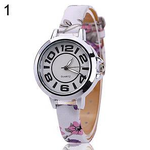 Женские кварцевые наручные часы Adelante flowers Flieder, фото 2