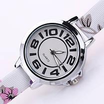 Женские кварцевые наручные часы Adelante flowers Flieder, фото 3