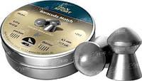 Пули пневм H&N Diabolo Baracuda Match, smooth, 500 шт/уп, 0,69 гр 4,5 мм
