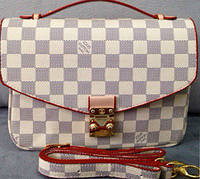 Сумка клатч Louis Vuitton белая