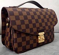 Сумка клатч Louis Vuitton коричневая