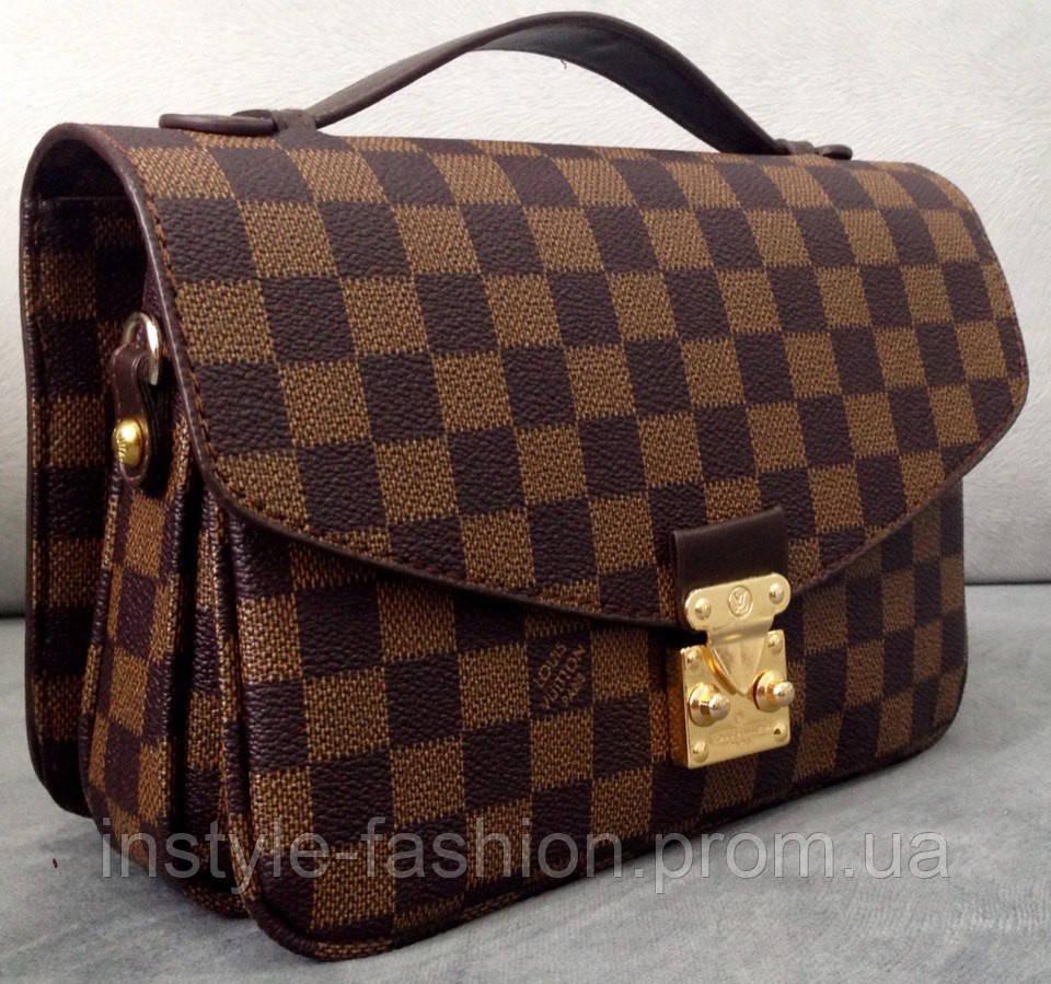 719fb667e92b Сумка клатч Louis Vuitton коричневая - Сумки брендовые, кошельки, очки,  женская одежда InStyle