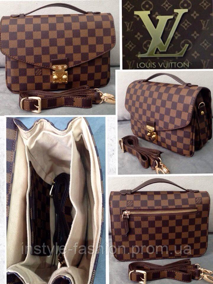 28750c3c884d Сумка клатч Louis Vuitton коричневая, цена 1 120 грн., купить в Одессе —  Prom.ua (ID#318449020)