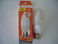Лампа электрическая ELECTRUM A-LC-0527 C37 4w E27 2700K LC-10