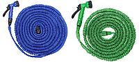 Поливая шланга  22,5 метра, шланг с насадками для полива X-hose Икс-хоз садовый поливочный шланг