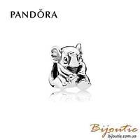 Pandora Шарм СЧАСТЛИВЫЙ СЛОН #791902 серебро 925 Пандора оригинал