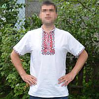 Мужская рубашка вышиванка короткий рукав