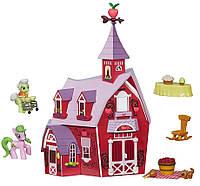 Набор с домиком фермой и пони My Little Pony Friendship is Magic Collection Sweet Apple Acres Barn Pack