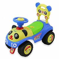 машинка-толокар для мальчика Panda UR-7601 голуба