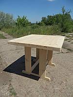 Деревянный стол. Садовый стол из дерева . Для дачи. Фото. Цена, купить, фото 1