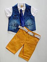 Летний костюм на мальчика,5-6-7-8 лет