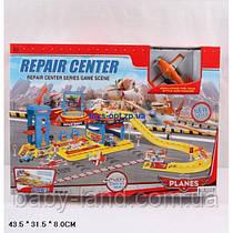 Гараж паркинг детский Летачки с ковриком 660-154