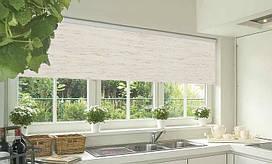 Рулонные шторы, блокирующие свет, 42,5 см х 160 см блекаут (BO) Мадагаскар, прорезиненные