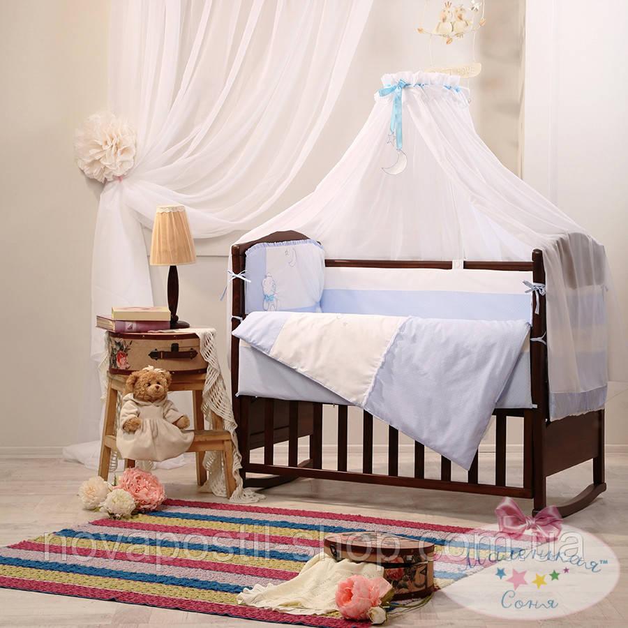Набор в детскую кроватку Darling фиалковый (7 предметов)