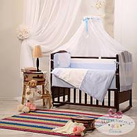 Набор в детскую кроватку Darling фиалковый (7 предметов), фото 1