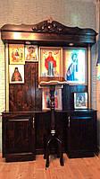 Домашний Иконостас из дерева Ольха