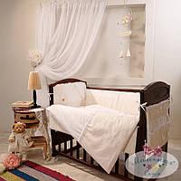 Набор в детскую кроватку Darling шоколадный (6 предметов), фото 1