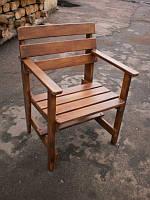 Кресло деревянное, для сада, для дачи, для бани,из дерева, фото, цена.