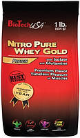 Nitro Pure Whey Gold 454 g lemon yogurt