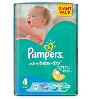 Pampers Active baby 4 Maxi 76 шт (7-14 кг)
