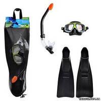 Intex Набор 55959 маска трубка ласты (55975 55928 55935) спортивная серия