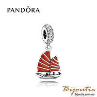 Pandora шарм КИТАЙСКАЯ ДЖОНКА №791908EN09 серебро 925 Пандора оригинал