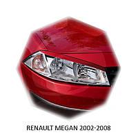 Реснички на фары Renault MEGAN 2002-2008 г.в Рено Меган
