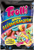 Желейные конфеты Trolli Saure Glühwürmchen  , 200 гр