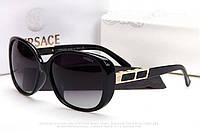 Солнцезащитные очки Versace (2111) черная оправа