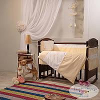 Набор в детскую кроватку Darling желтый (6 предметов), фото 1
