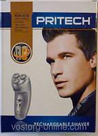 Электробритва Pritech RSM 676, мужские бритвы, электрические бритвы, аккумуляторная электробритва