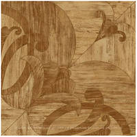Плитка для пола Golden Tile Венеция темно-бежевая 400х400