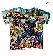 Футболка Transformers для мальчика. 90, 100 см