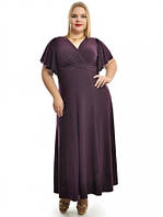 Нарядное платье в пол больших размеров,модель ДК 685