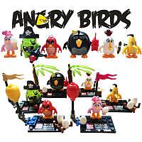 Фигурки Angry birds конструктор Лего 6 шт