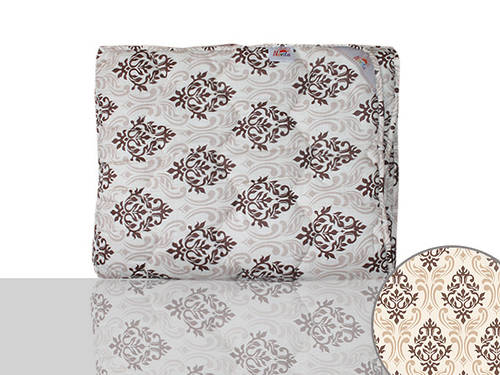 Одеяло силиконовое полуторное (коричневое)