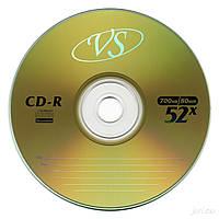 CD-R  диски VS емкостью 700Mb(80 минут)