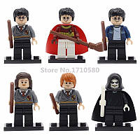 Фигурки Harry Potter Гарри Поттер Лего 6 шт