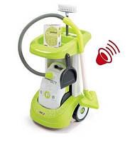 """Тележка для уборки """"Чистый дом"""" с пылесосом Rowenta Smoby 24406"""
