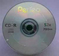 CD-R  диски Perfeo емкостью 700Mb(80 минут)